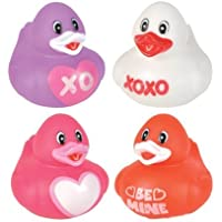 Valentine's Day Love Rubber Duckys - 12 ct by Rubber Ducky [並行輸入品]
