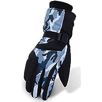 tempence スキー グローブ 冬 自転車 スノーボード グローブ 防寒 スキー 手袋 冬用 防撥水 アウトドア 登山 バイク3