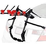 3 Bike Rack For Car SUV Universal Carrier - Bicycle Trunk Mount Rear Racks -Sedan, Hatchback, SUV