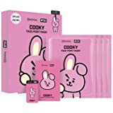 Mediheal - BT21 Face Point Mask BTS colaboration character (20ml x 4 sheets (Face Mask)) + Free Gift by WhoseGoods (#Cooky)