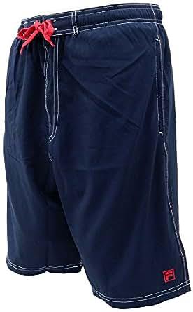 (フィラ) FILA 水着 メンズ 海水パンツ ショートパンツ サーフパンツ 2color (M, 柄A)