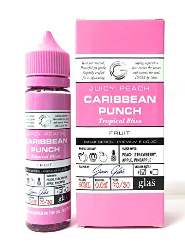 残り物機関ズームVAPE リキッド 電子たばこ Glas Basix 60ml (CARIBBEAN PUNCH) カリビアンパンチ