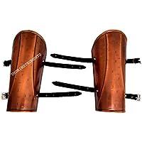 300スパルタムービーアームガードセット銅アンティーク仕上げ小道具