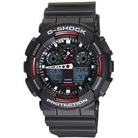 Casio G-Shock Analog Digital Mens Watch GA100-1A4