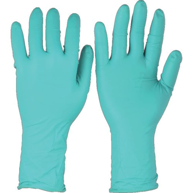 女性木材同化トラスコ中山 アンセル ネオプレンゴム使い捨て手袋 マイクロフレックス 93-260 XSサイズ (50枚入)  932606