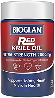 Bioglan BG Red Krill, 2000mg (30s), 0.12 Kilograms
