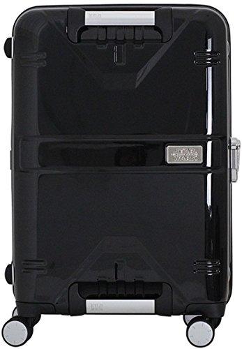 スーツケース STAR WARS スター・ウォーズ 中型 Mサイズ 軽量 頑強 TSA 4輪キャリーバッグ シフレ カイロ・レン STW2026-55 カイロBK/DR