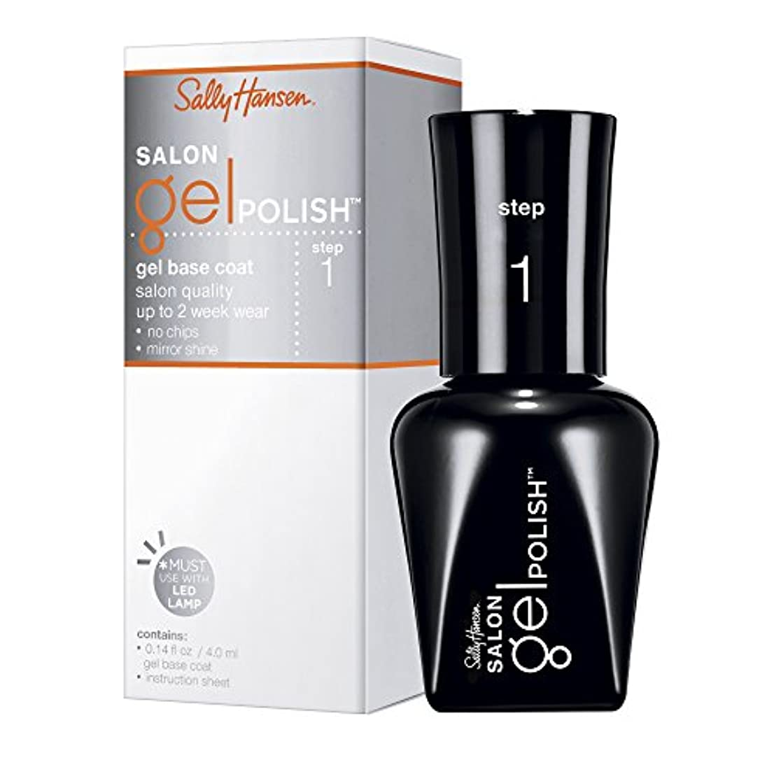 SALLY HANSEN SALON GEL POLISH GEL BASE COAT #01