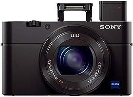 Sony DSC-RX100M3 Cyber-shot RX100 III Advanced Camera, Black