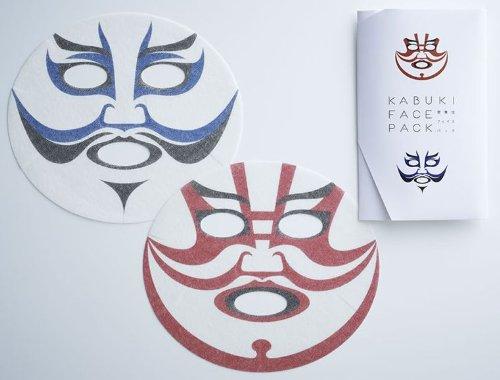 これであなたも歌舞伎役者。市川染五郎さん監修のKABUKI FACE PACK