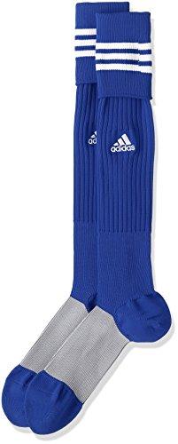 (アディダス)adidas サッカーウェア 3ストライプ ゲームソックス MKJ69 [ユニセックス] BS2851 ロイヤル/ホワイト 22-24cm