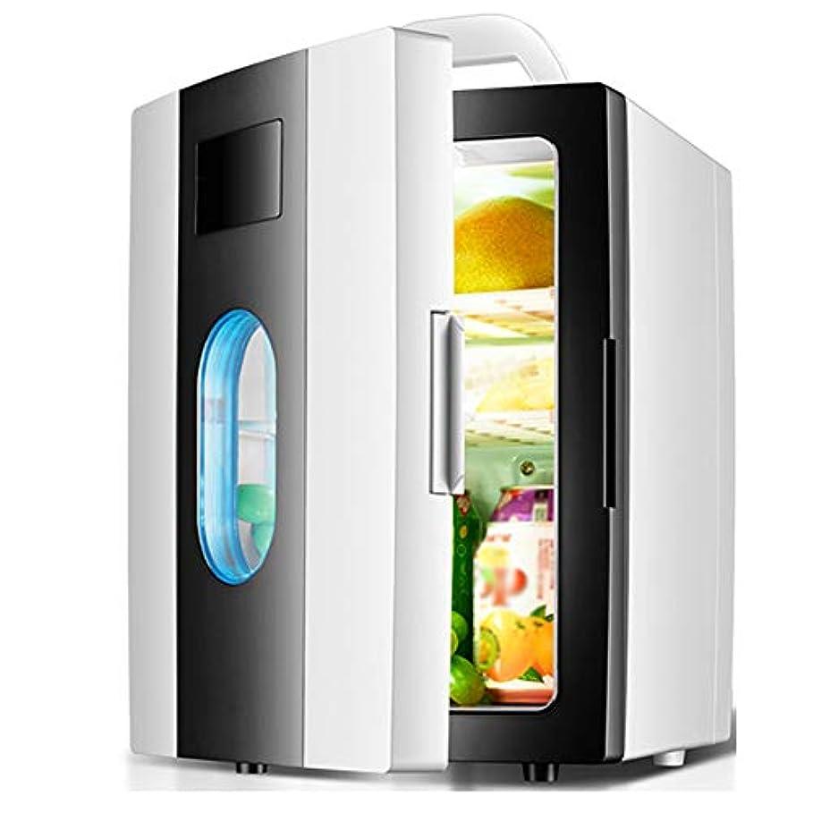 線形独占言語学10L熱電コンパクト冷蔵庫、12v / 220v家庭/車兼用ポータブル冷蔵庫、キャンプ、自動運転ツアー、寮、オフィスでの使用に最適,黒