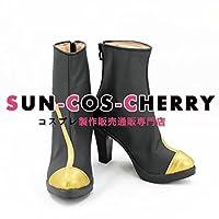 【サイズ選択可】コスプレ靴 ブーツ K-2222 VOCALOID スターダスト 女性22CM
