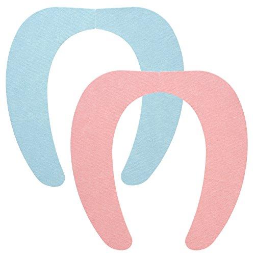 おくピタ 吸着 べんざシート 2色セット (ブルー&ピンク) 洗濯OK BB-476