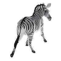 Baosity 20種類選ぶ 多色 庭 動物園 動物モデル シミュレーション フィギュア 子ども おもちゃ - ゼブラ