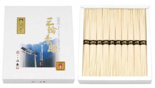 三輪素麺 鳥居 誉 500g(50g×10束) ×3セット NKK-15
