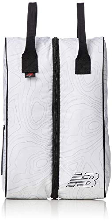 [ニューバランス ゴルフ]シューズケース ヘビーツイル 等高線プリント シューズバッグ 012-8284004