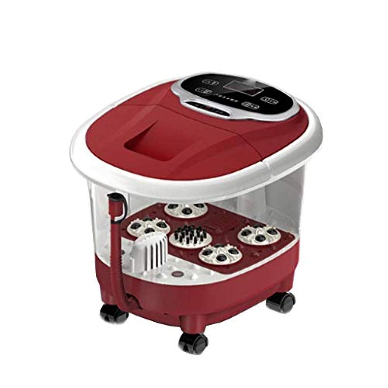 絶望的なキッチンアーカイブプロフェッショナルフットスパマッサージ、磁場療法 フットケア用 熱とマッサージとジェット調節可能な時間温度