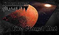 HiddenForest Space 3x3 ゲームマット ファイヤープラネット (マスタファー) スター・ウォーズ Xウィング アルマダ用