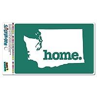 ワシントンWA ホーム州 MAG-NEATO'S(TM) ビニールマグネット - ソリッドティール