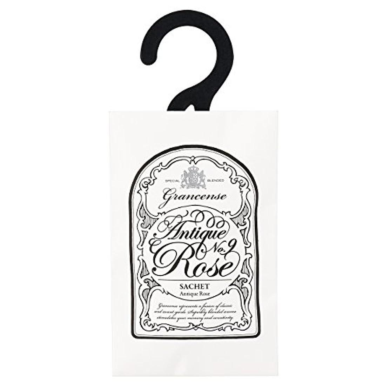 世界の窓舌カールグランセンス サシェ(約2~4週間) アンティークローズ 12g(芳香剤 香り袋 アロマサシェ カシスの青さとローズをミックスした印象深い香り)