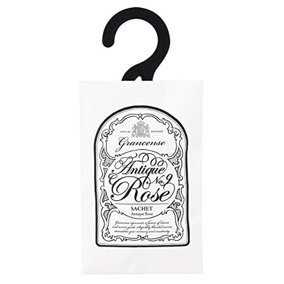 先史時代の支払い魔法グランセンス サシェ(約2~4週間) アンティークローズ 12g(芳香剤 香り袋 アロマサシェ カシスの青さとローズをミックスした印象深い香り)
