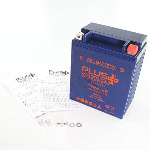 プラスバッテリー PB14L-X2 シールド式 ジェルタイプ バイク用 14L-A2 CB750Fインテグラカスタム CB650カスタム GL700インターステート 14L-X2