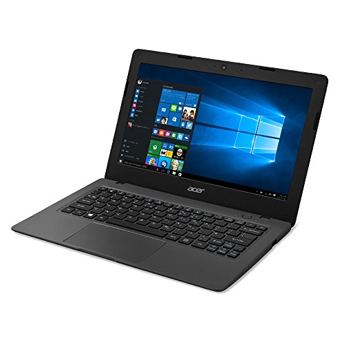 Acer ノートパソコン Aspire One AO1-131-A12N/K  Windows 10/Celeron N3060/11.6インチ/2GB/32GB