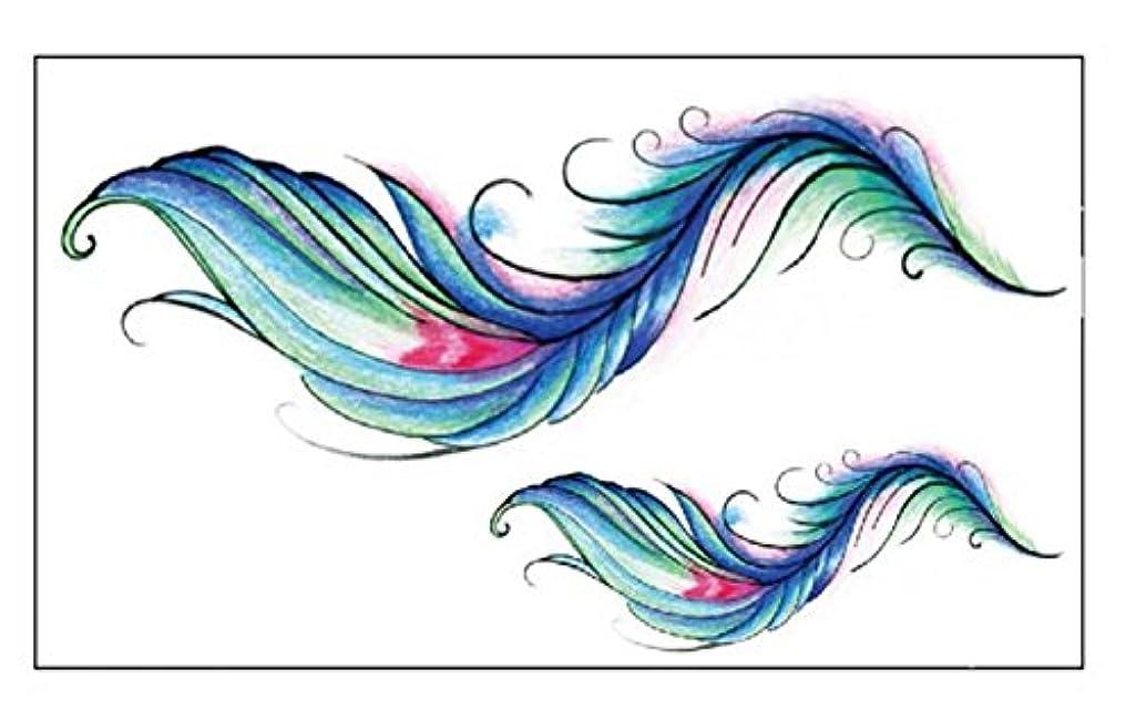 チキン代わりにを立てる討論永続的な入れ墨シミュレーション防水