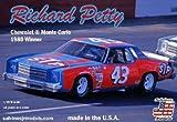 サルビノス J・R モデル 1/25 NASCAR 1980優勝車 シボレーモンテカルロ リチャード・ペティ #43 プラモデル SJMRPMC1980N