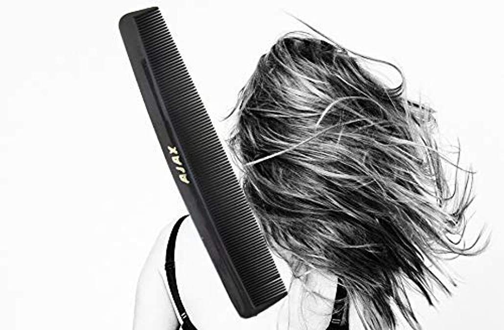 申し立てペアすりAjax Unbreakable Hair Combs Super Flexible Pocket Sized - Proudly Made in the USA (Pack of 6) [並行輸入品]
