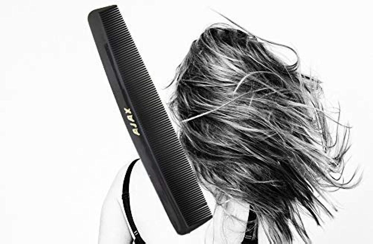 ローラー飢パイントAjax Unbreakable Hair Combs Super Flexible Pocket Sized - Proudly Made in the USA (Pack of 6) [並行輸入品]