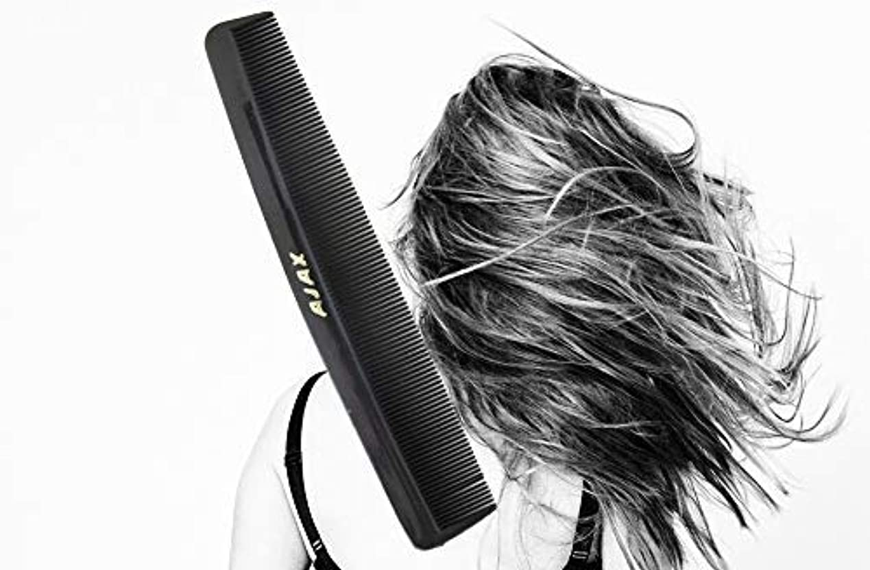 農業み軽量Ajax Unbreakable Hair Combs Super Flexible Pocket Sized - Proudly Made in the USA (Pack of 6) [並行輸入品]