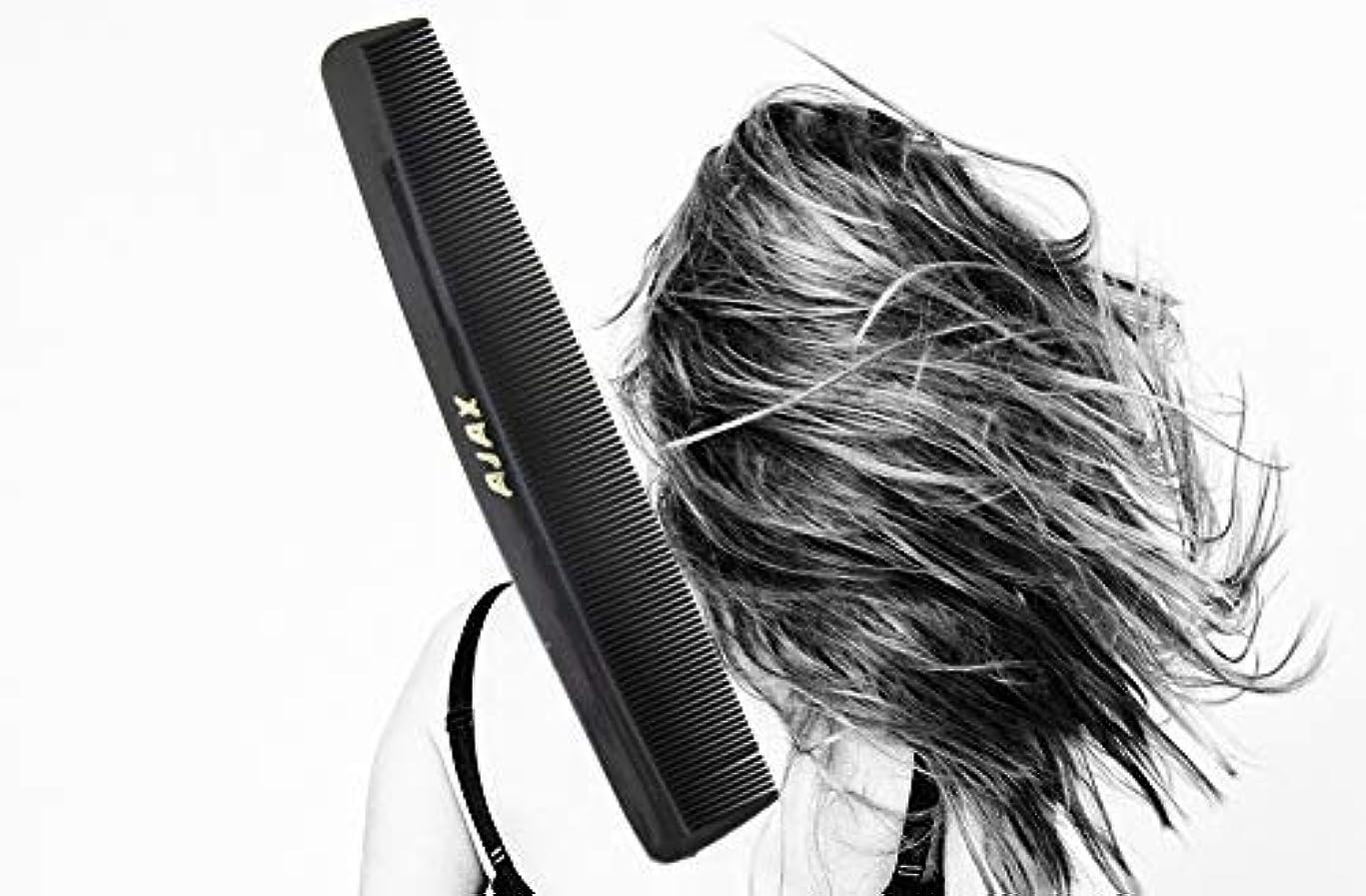 ストライド小数傷つきやすいAjax Unbreakable Hair Combs Super Flexible Pocket Sized - Proudly Made in the USA (Pack of 6) [並行輸入品]
