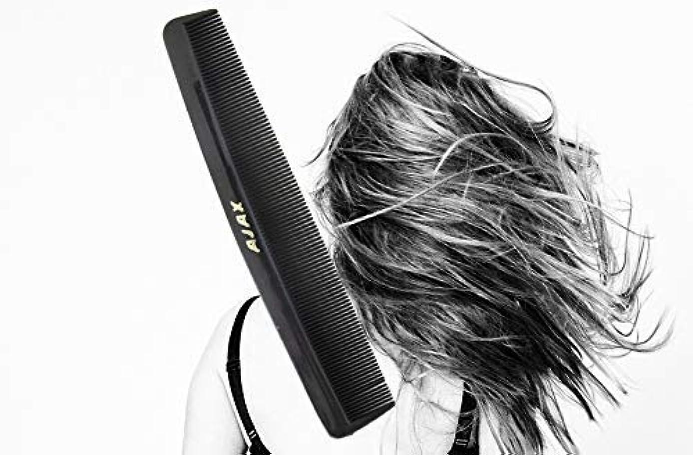 普遍的な結婚するファブリックAjax Unbreakable Hair Combs Super Flexible Pocket Sized - Proudly Made in the USA (Pack of 6) [並行輸入品]