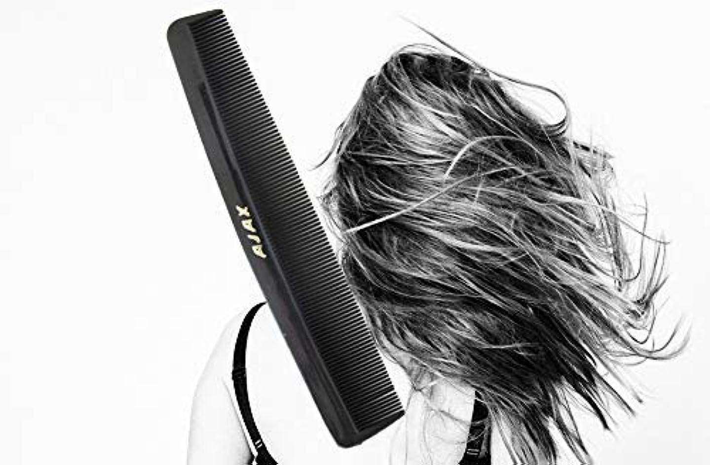 関連付けるホバートしなやかなAjax Unbreakable Hair Combs Super Flexible Pocket Sized - Proudly Made in the USA (Pack of 6) [並行輸入品]