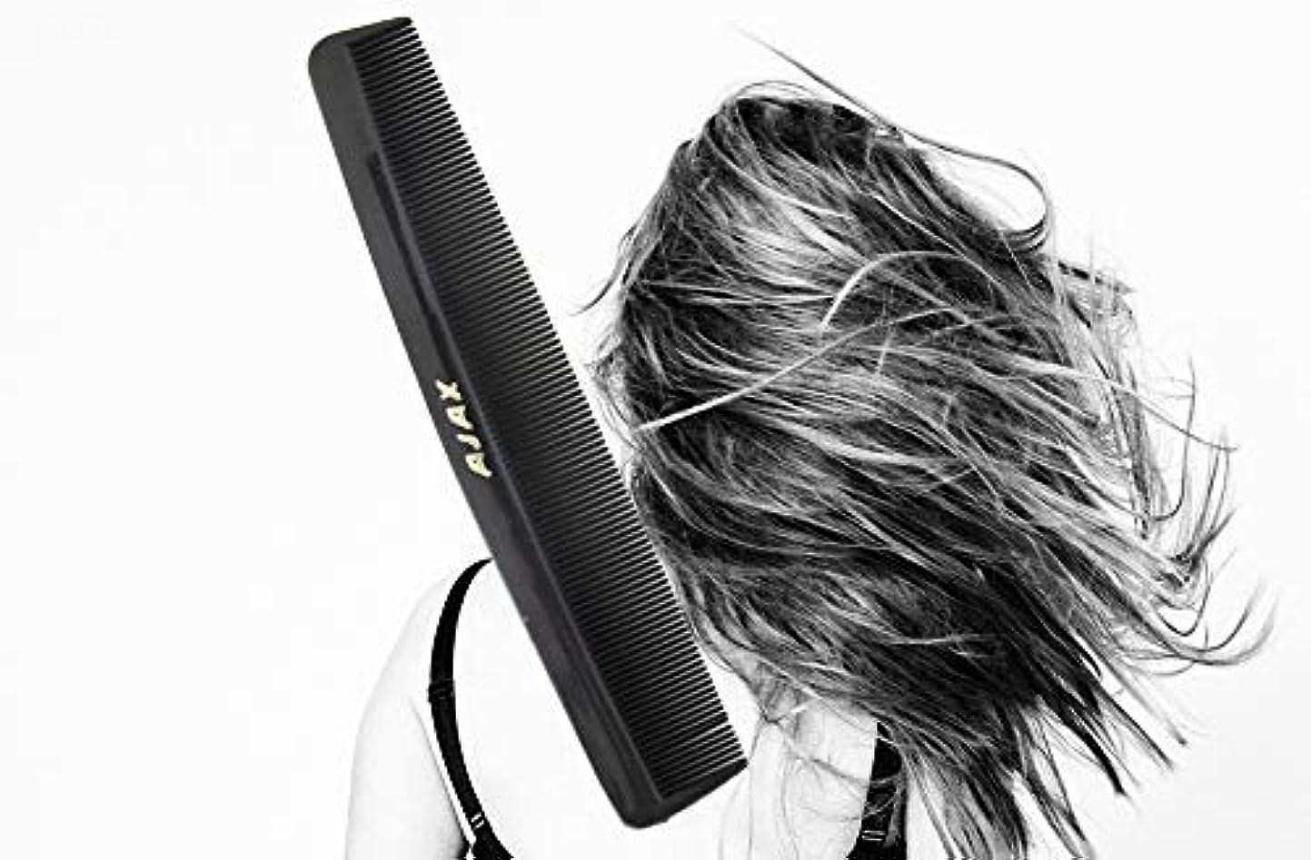 愛大騒ぎ初期のAjax Unbreakable Hair Combs Super Flexible Pocket Sized - Proudly Made in the USA (Pack of 6) [並行輸入品]