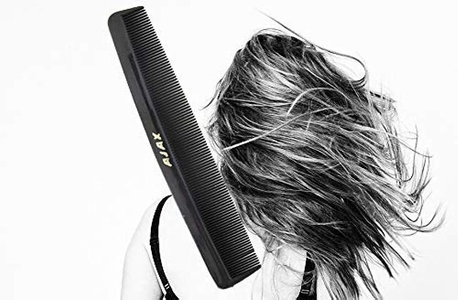 大声でスチュワーデス不明瞭Ajax Unbreakable Hair Combs Super Flexible Pocket Sized - Proudly Made in the USA (Pack of 6) [並行輸入品]