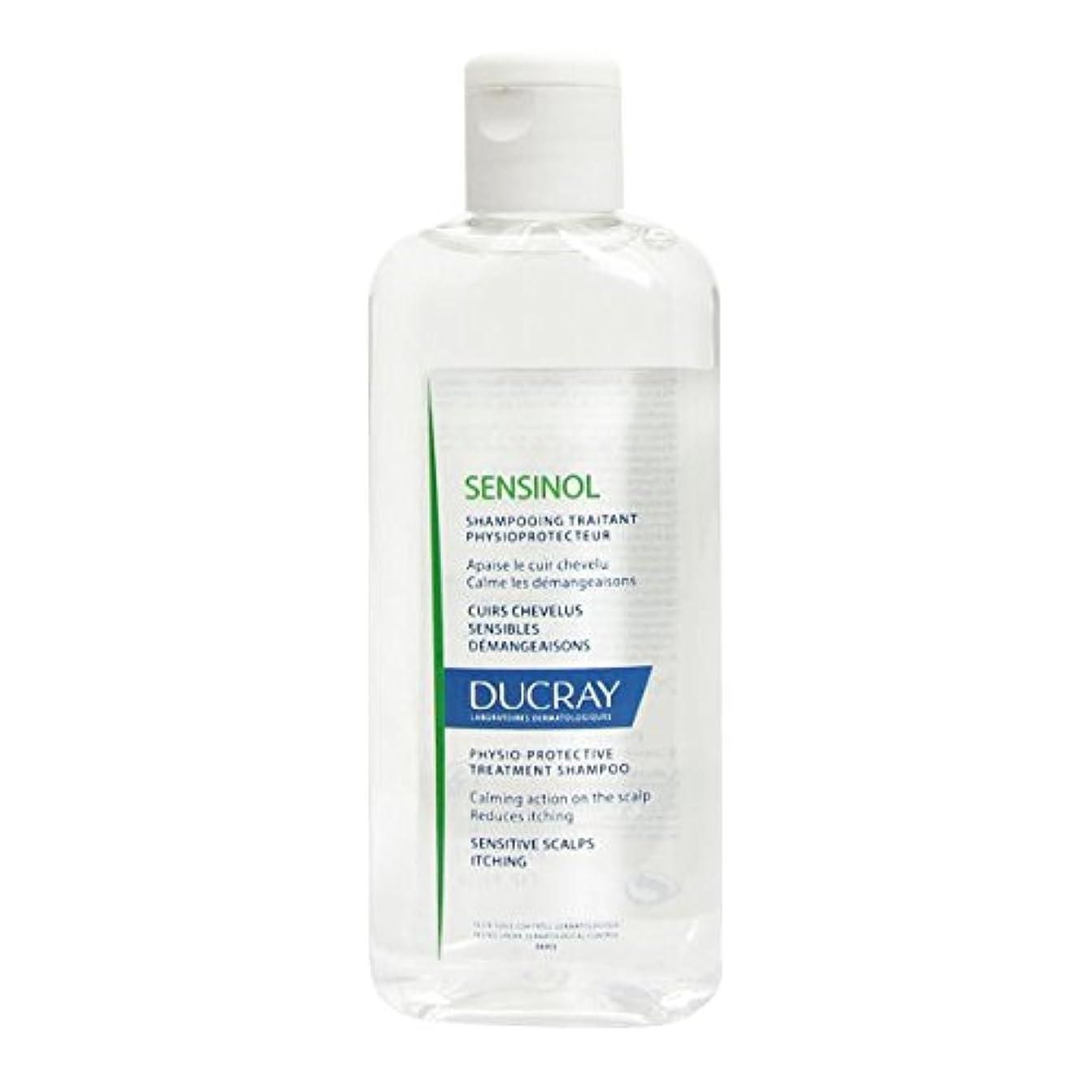 収穫マイナー意識的Ducray Sensinol Protective Shampoo 200ml [並行輸入品]