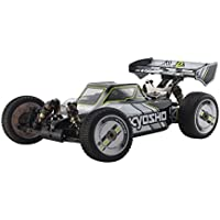 京商 1/8 電動4WD レーシングバギー インファーノMP9e TKI カラータイプI (ホワイト/ブラック) ラジコンセット 30874T1