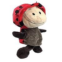 amgj Kids Plush Ladybug Hand Puppetsファーム動物デザイン学習Aidストーリーおもちゃ人形