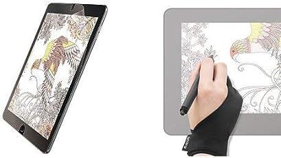[2本指グローブ_Mサイズセット ]エレコム iPad フィルム iPad Pro 10.5 2017年モデル ペーパーライク 反射防止 TB-A17FLAPL