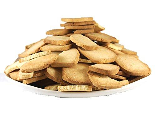 (訳あり)固焼き☆豆乳おからクッキープレーン約100枚1kg×2セット 軽食品 ダイエット食品