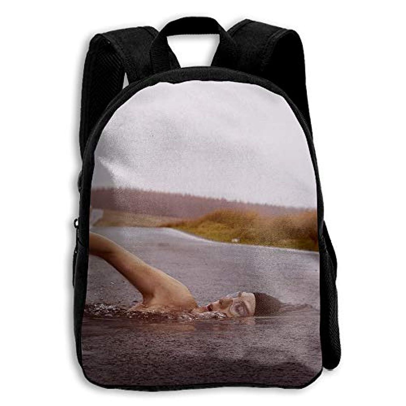 魅了するブルーベル征服するキッズ バックパック 子供用 リュックサック 水泳 ショルダー デイパック アウトドア 男の子 女の子 通学 旅行 遠足