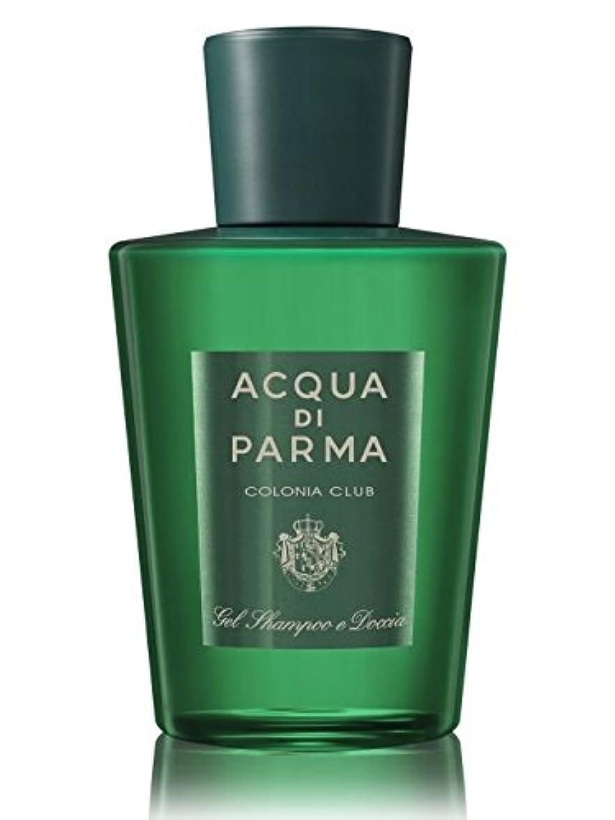 付ける訪問子豚Acqua di Parma Colonia Club (アクア ディ パルマ コロニア クラブ) 6.7 oz (200ml) Hair & Shower Gel
