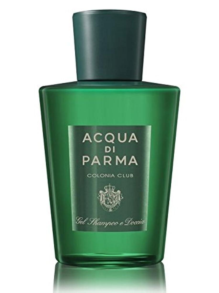 土曜日清めるわざわざAcqua di Parma Colonia Club (アクア ディ パルマ コロニア クラブ) 6.7 oz (200ml) Hair & Shower Gel