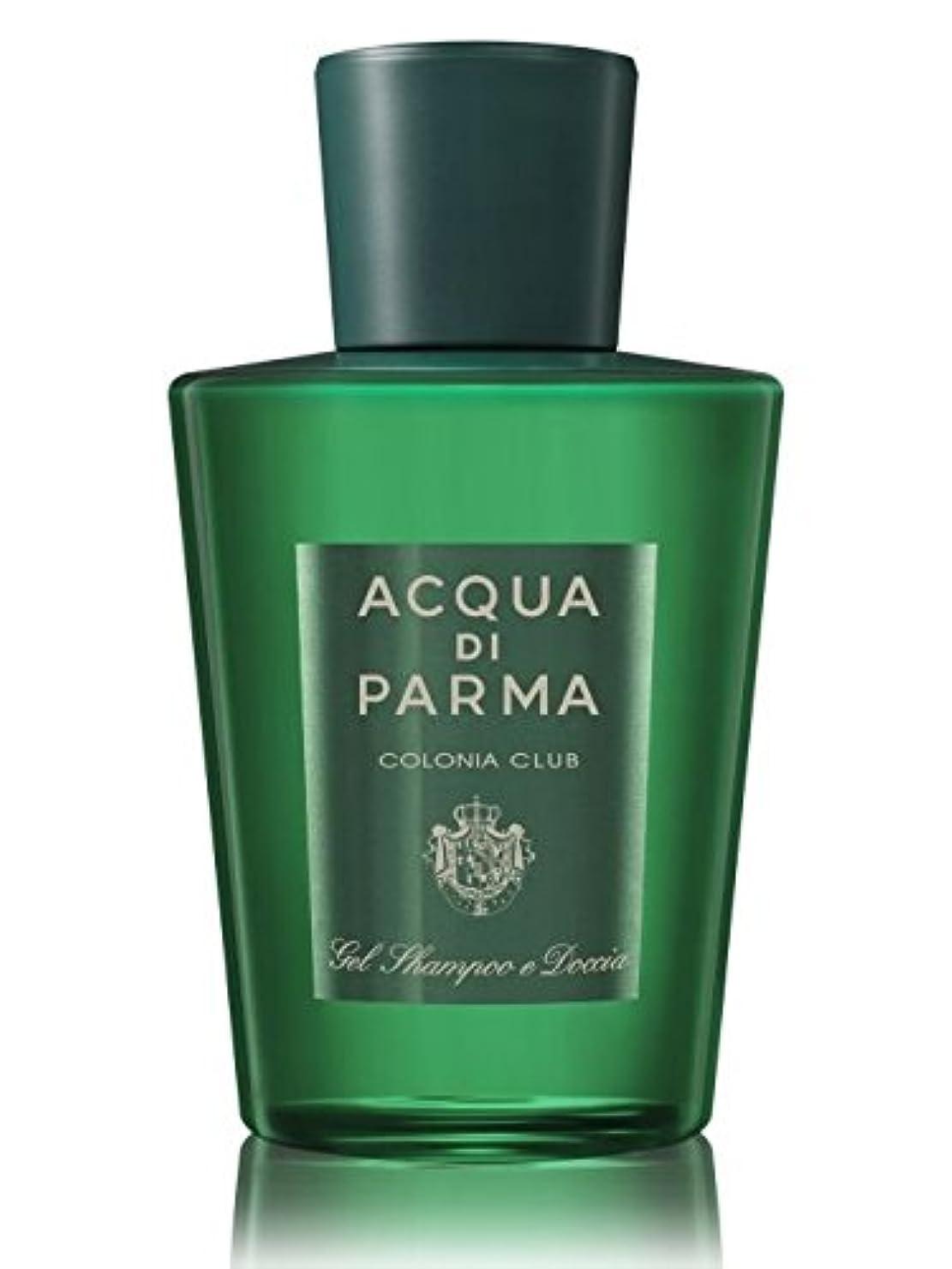 偽善者ペインティング深遠Acqua di Parma Colonia Club (アクア ディ パルマ コロニア クラブ) 6.7 oz (200ml) Hair & Shower Gel