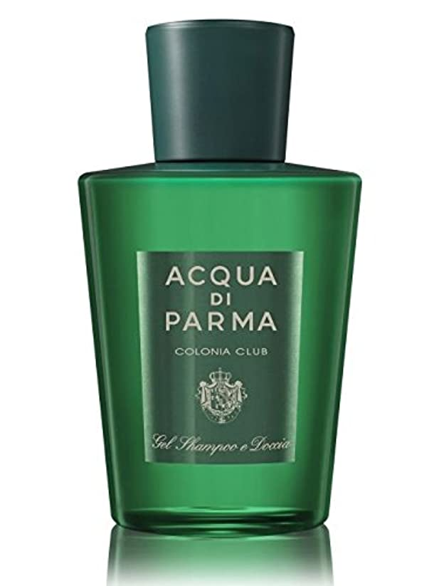 無効にする牽引下向きAcqua di Parma Colonia Club (アクア ディ パルマ コロニア クラブ) 6.7 oz (200ml) Hair & Shower Gel