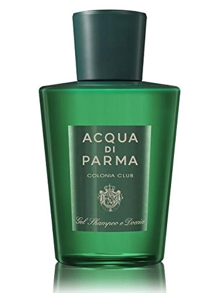 耳日の出悲しいAcqua di Parma Colonia Club (アクア ディ パルマ コロニア クラブ) 6.7 oz (200ml) Hair & Shower Gel