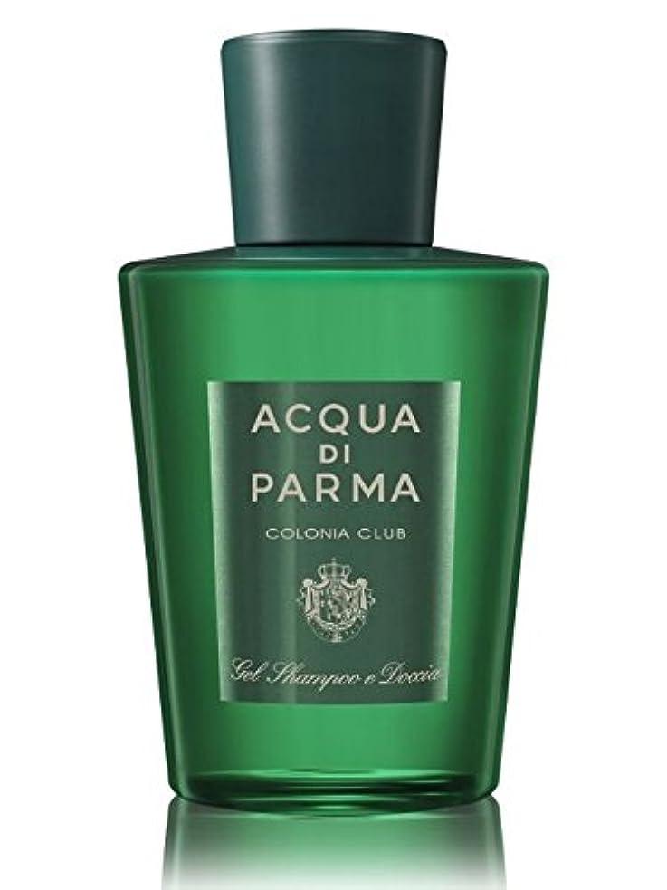優遇スムーズに顔料Acqua di Parma Colonia Club (アクア ディ パルマ コロニア クラブ) 6.7 oz (200ml) Hair & Shower Gel